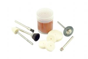 Polishing & Cleaning Kit. Mini Jewellery Craft 10 Piece Set. S7099